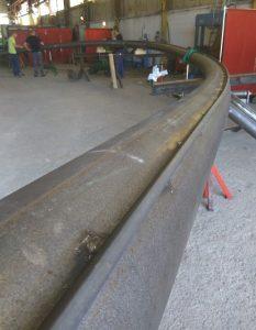 Rail en phase de production